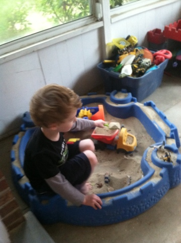 Indoor sandbox