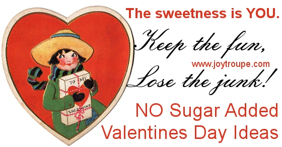 No sugar added valentines party ideas