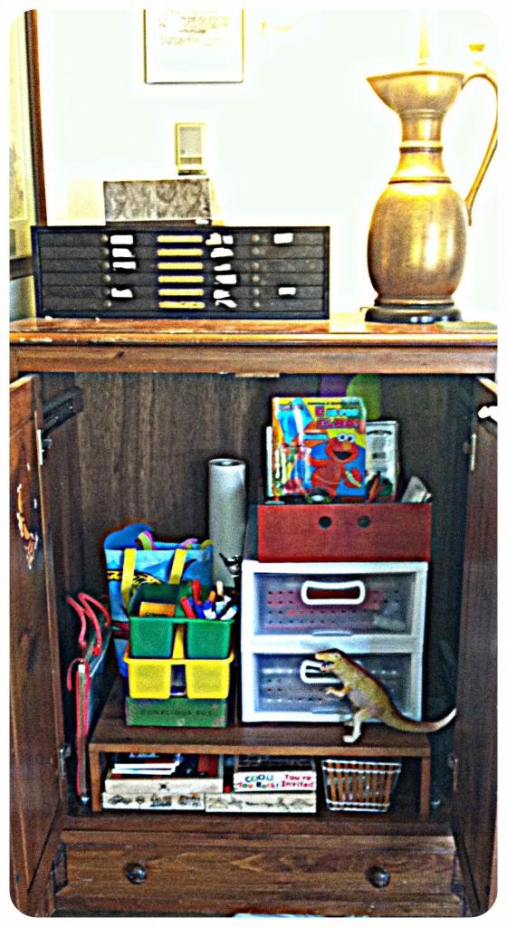 kids 39 art supply organization and storage. Black Bedroom Furniture Sets. Home Design Ideas