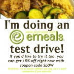 I'm doing an eMeals Test Drive!