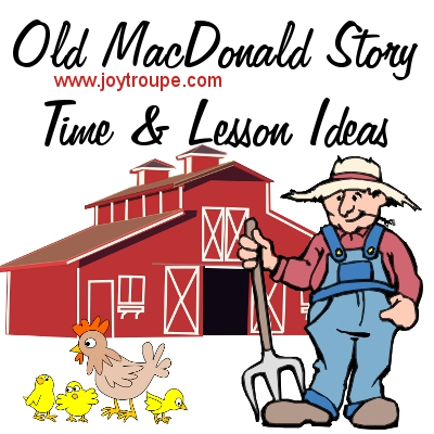 Old MacDonald Lesson Plan, playdate, or story time ideas