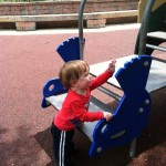 Playing at Glen Echo Park