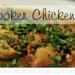 Crock Pot Chicken Piccata