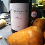 F. Stephen Millier Shiraz Poached Pears