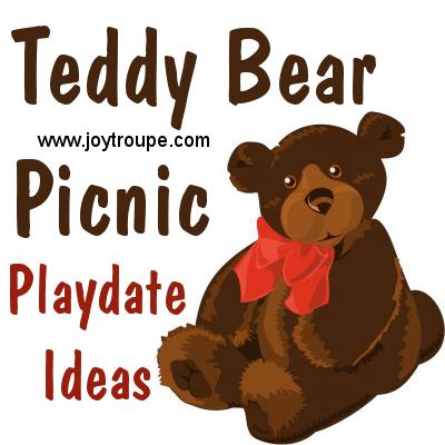 Teddy Bear Picnic Playdate Ideas