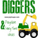 Diggers Playdate or Story Time