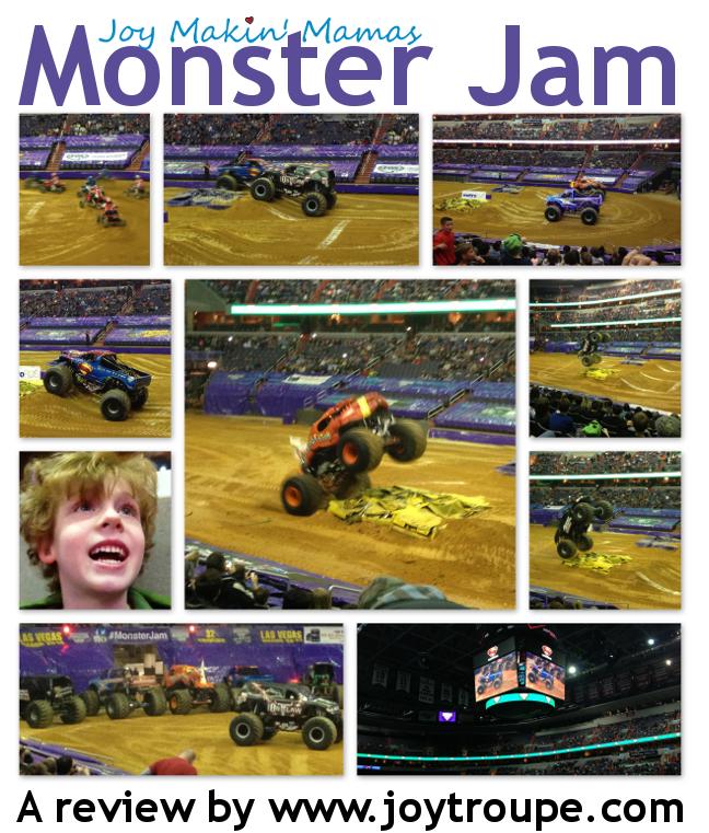 Monster Jam Monster Truck Show is fantastic.