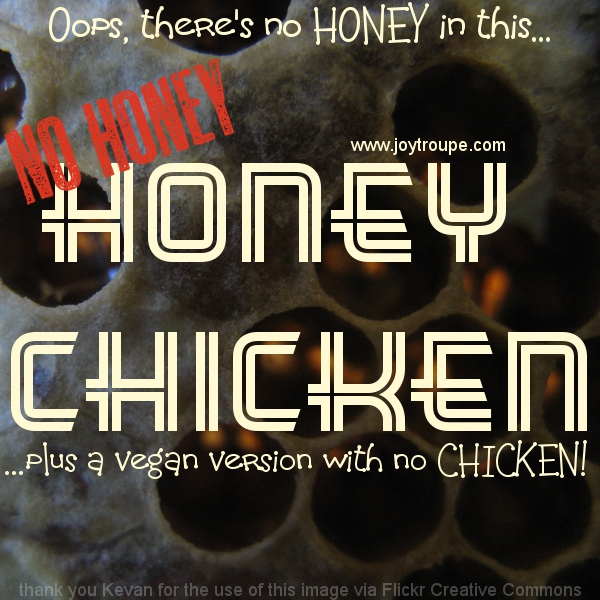 No Honey Honey Chicken Recipe