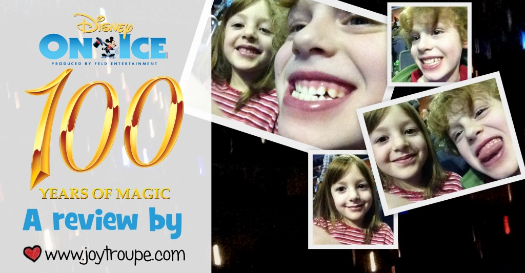 disney on ice 100 years of magic show review by Joy Makin' Mamas