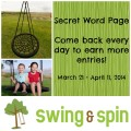 Swing and Spin Secret Word Page button