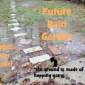 future rain garden turns puddles into hands on science