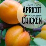Super Easy Apricot Chicken Recipe