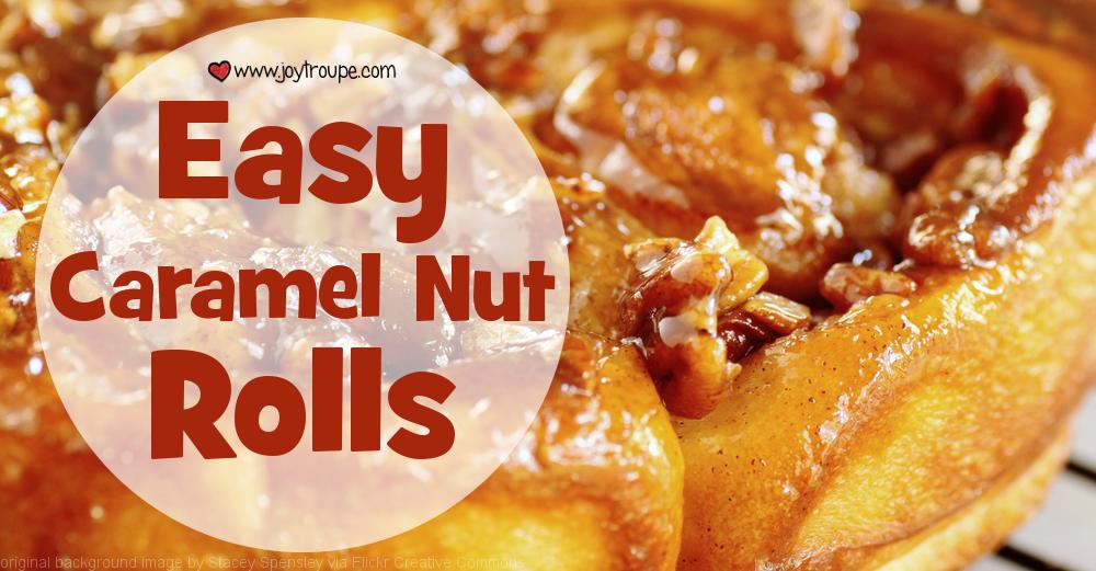 caramel nut rolls recipe wide