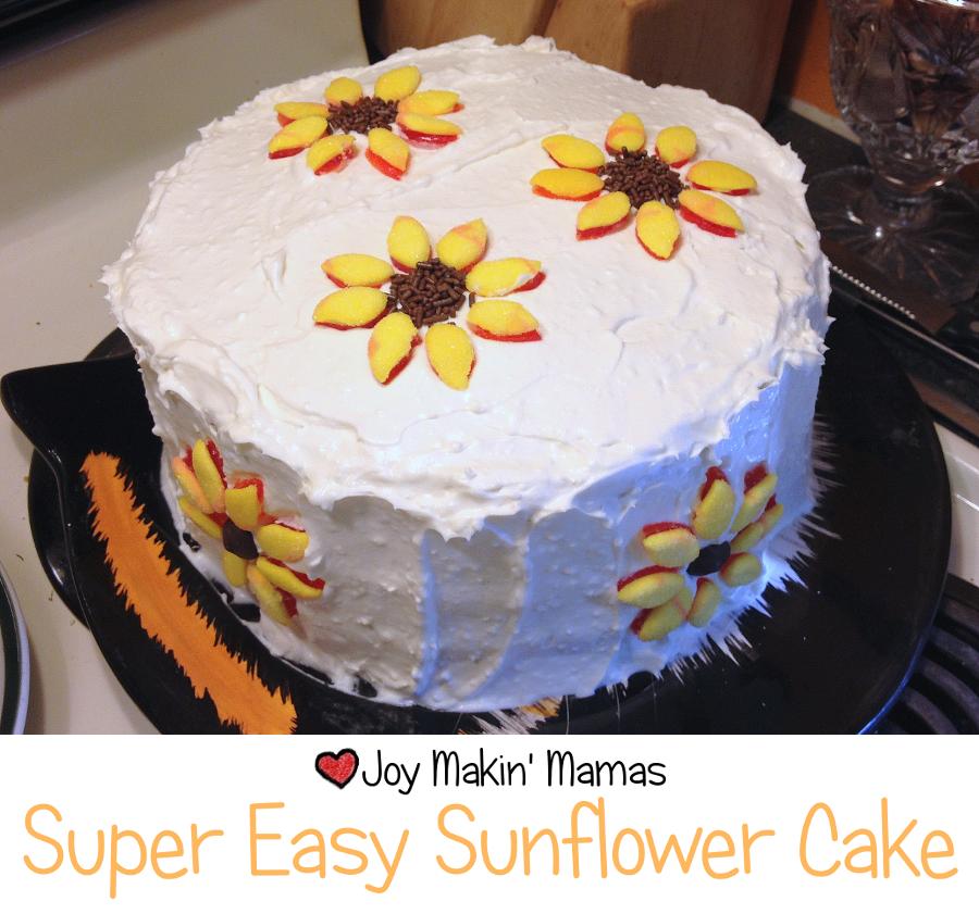 Easy Sunshine Cake