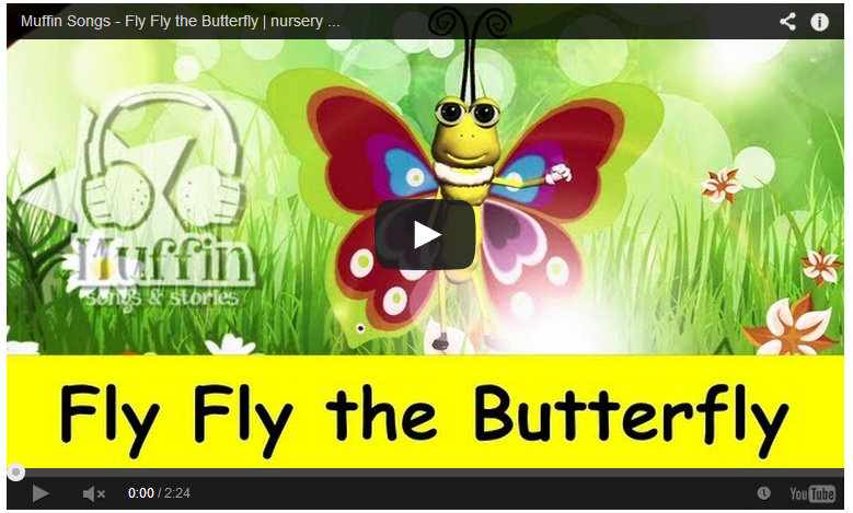 Fly Fly the Butterfly Song
