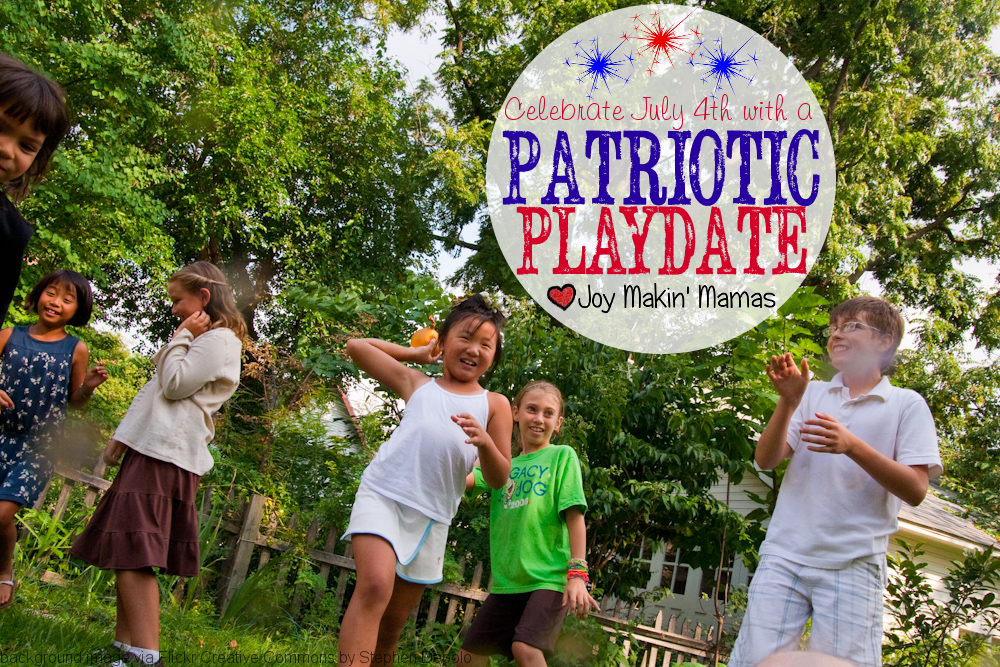 Stars and Bars Patriotic Playdate for July 4th or any time