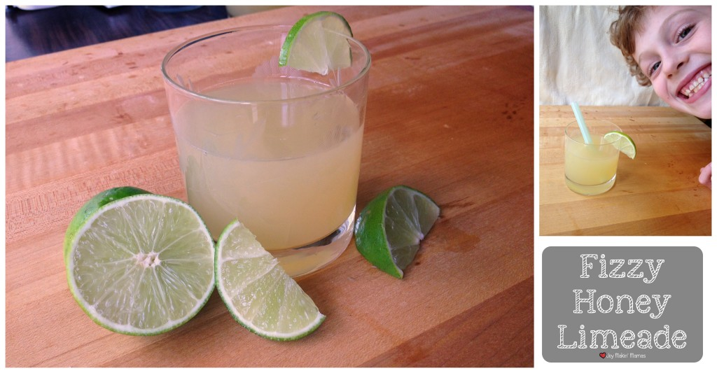 Fizzy Honey Limeade Recipe Joy Makin Mamas