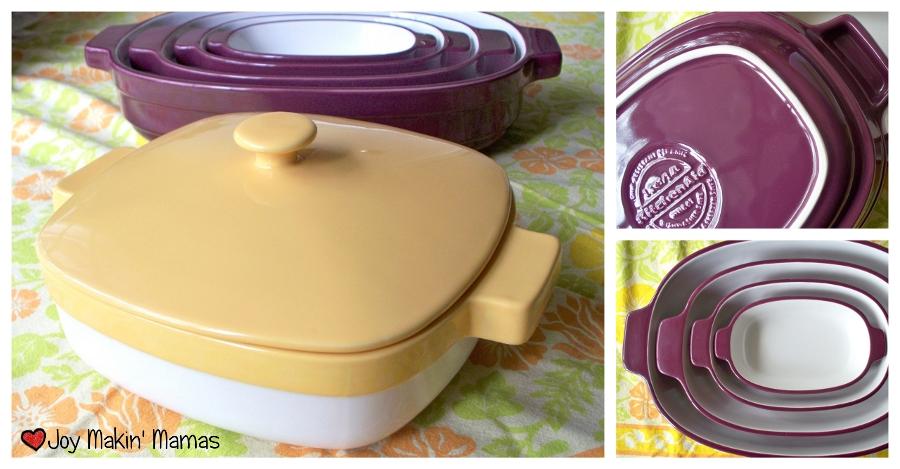Kitchenaid ceramic casserole dishes review Joy Makin Mamas