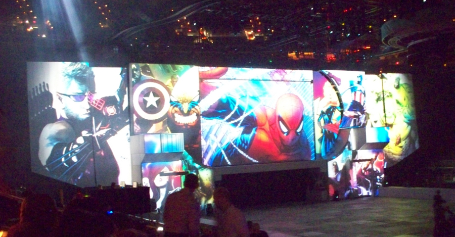 animated show backdrop Marvel Universe Live Joy Makin Mamas