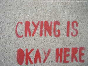 Crying is Ok here... unless you're a jerk. Joy Makin Mamas Blog