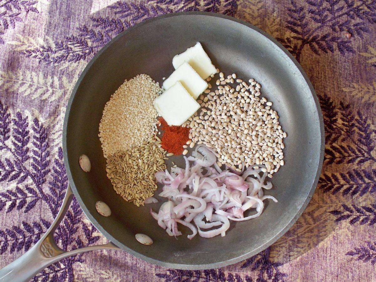 Cranberry Barley Casserole Process Photo Joy Makin Mamas
