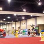 #LEGOKidsFest event floor