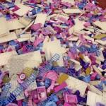 #LEGOKidsFest Pink duplo pile