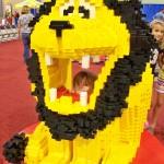 #LEGOKidsFest The lion really roars