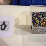 #LEGOKidsFest Mosaic art area