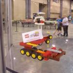 #LEGOKidsFest display case