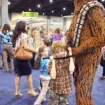 #LEGOKidsFest meet Chewbacca
