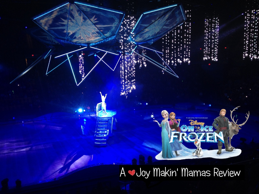 Disney on Ice Presents Frozen A Joy Makin Mamas Review