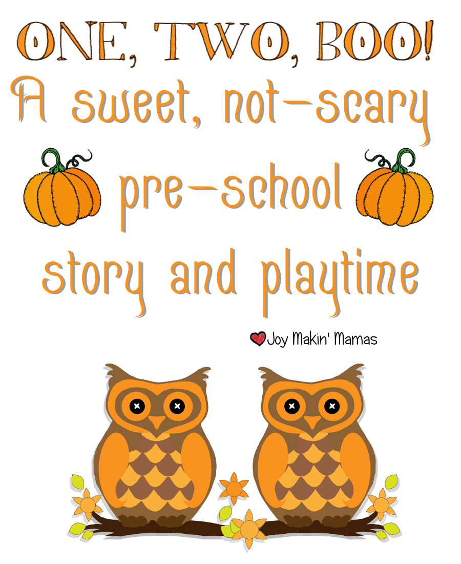 Halloween Story Time, Playdate, or Lesson plan