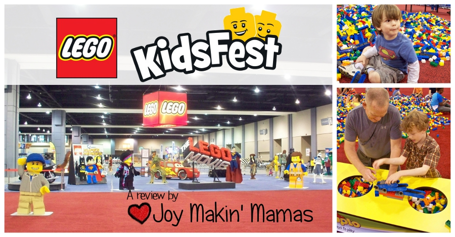 Lego KidsFest review by Joy Makin Mamas