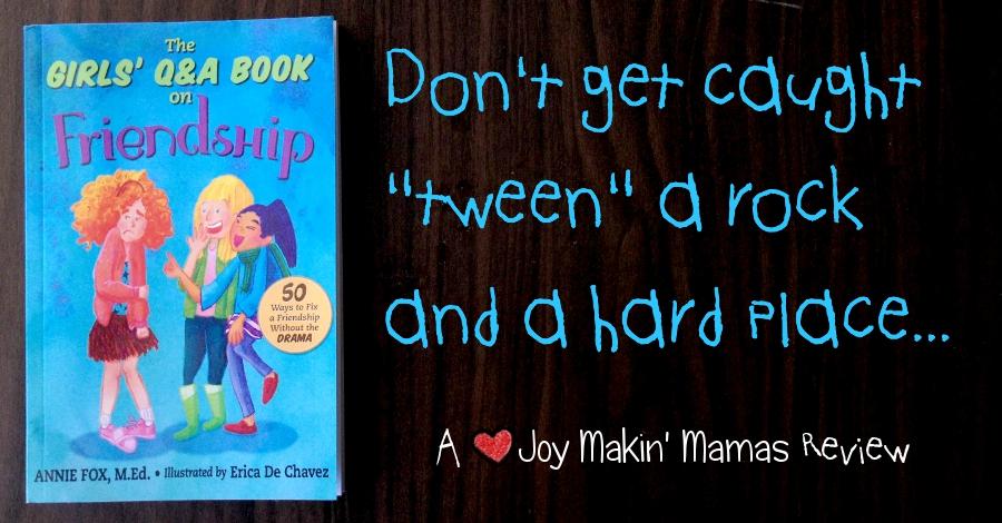 The Girls' Q&A Book on Friendship by Annie Fox M. Ed. FB cover