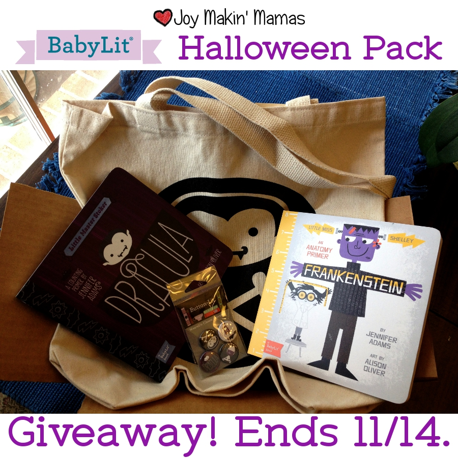 #BabyLit Halloween Pack Giveaway ends 11/14