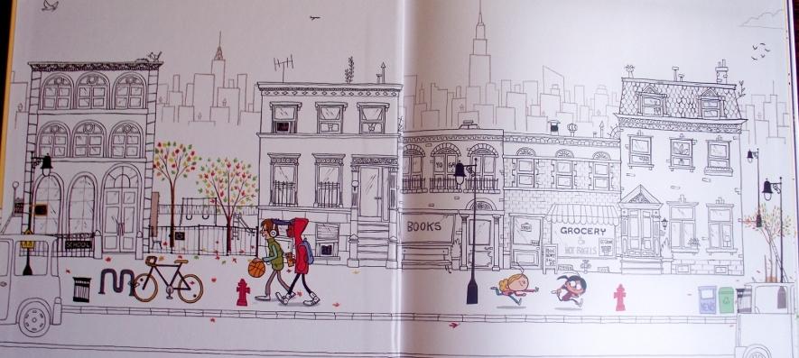 Maddi's Fridge Review Joy Makin Mamas cityscape by day
