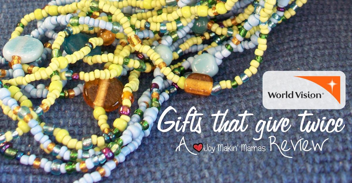 WorldVision Charitable gifst Balinese necklace joy makin mamas review