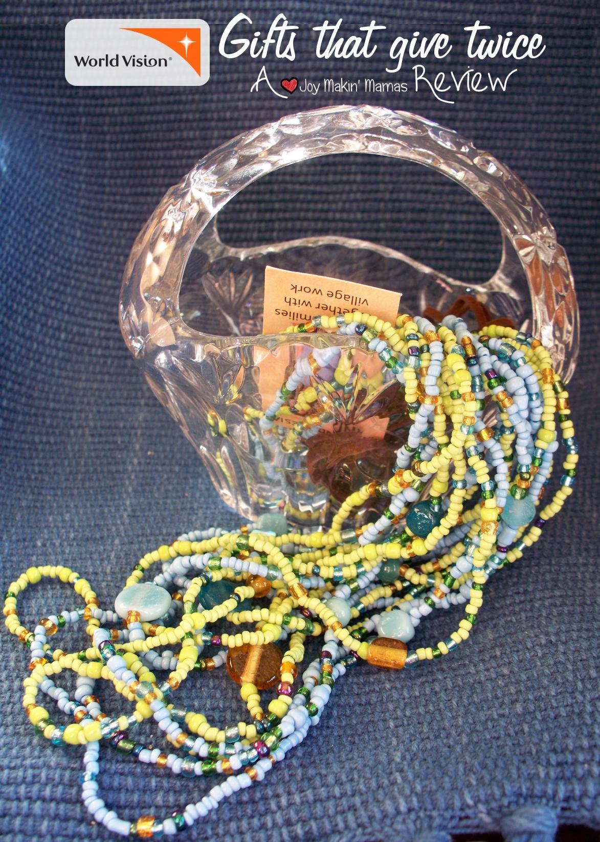 balinese necklace joy makin mamas review WorldVision Gifts