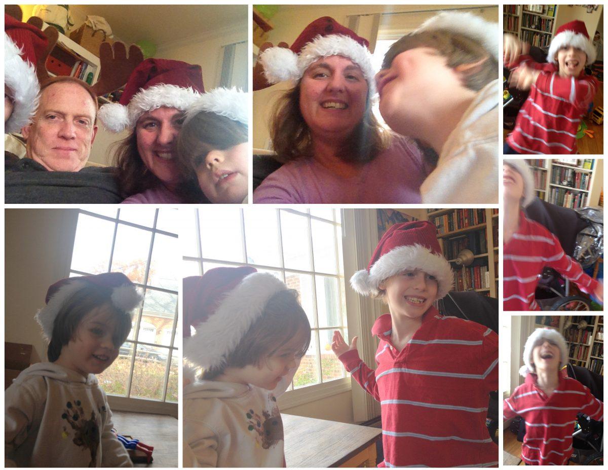 Holiday Card Photo Shoot Outtakes Joy Makin' Mamas 2014