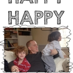 HAPPY HAPPY joy joy joy holiday card template Joy Makin' Mamas 2014