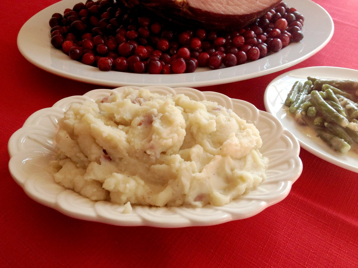 #HoneyBakedHoliday Mashed Potatoes Joy Makin Mamas