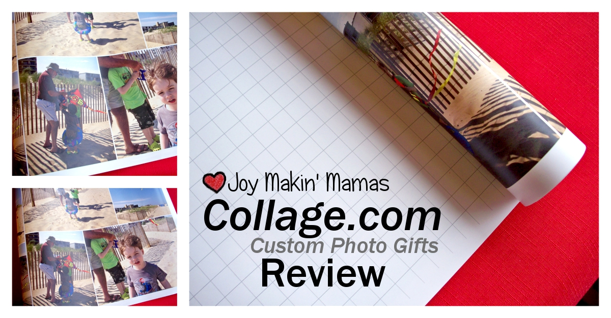 Collage.com custom photo gifts review Joy Makin Mamas