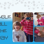 jingle all the way holiday card template 2014 joy makin' mamas