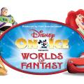 DIsney on ice worlds of fantasy logo