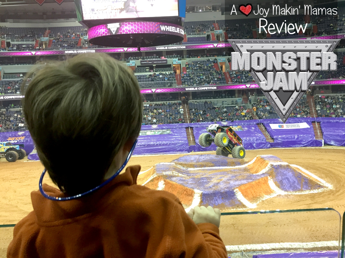 Monster Jam 2014 Joy Makin Mamas Review