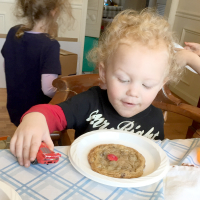 We had a Kids' Cookie Baking Adventure Party, and you can too!