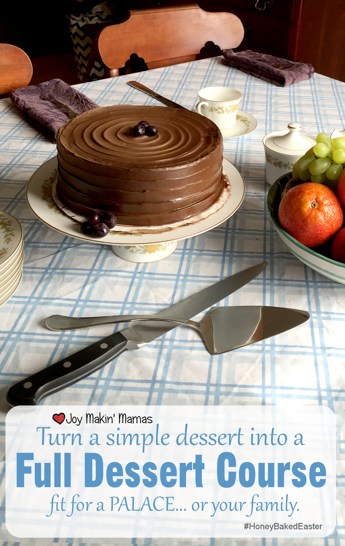Joy Makin' Mamas HoneyBaked Easter Dessert Course #Sponsored
