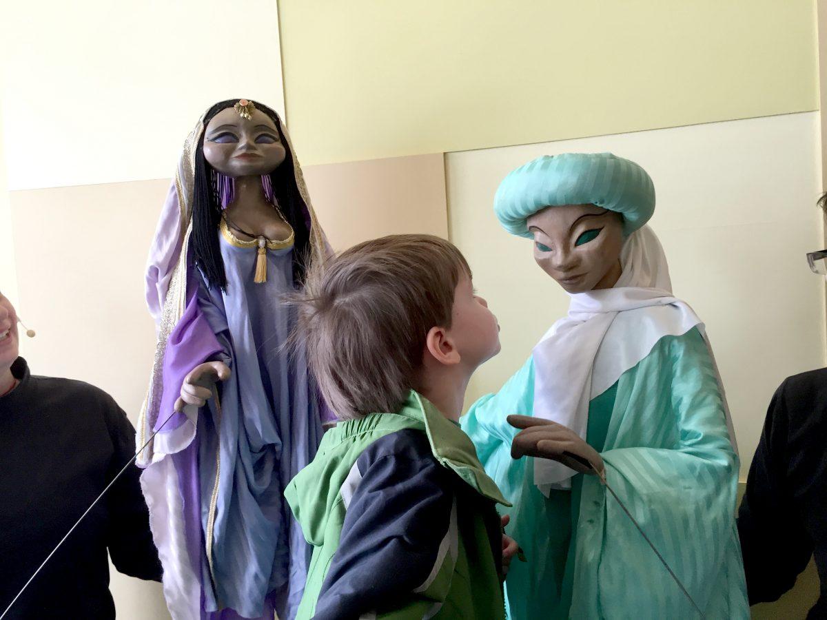 Kisses for Aladdin The Puppet Co Glen Echo MD