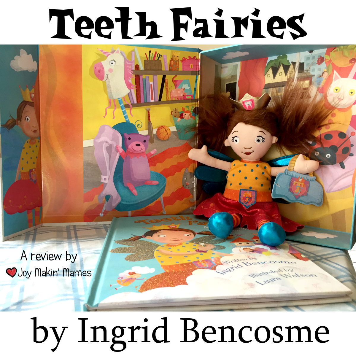 Teeth Fairies by Ingrid Bencosme horizontal